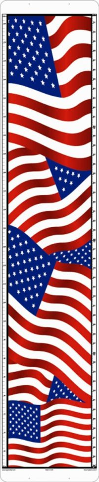 American Flags child growth chart
